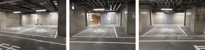障害者用駐車場